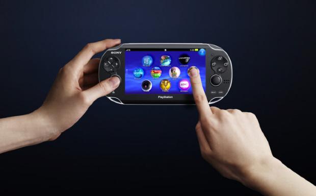 Next Generation Portable NGP Live Area touchscreen menu (PSP2 picture)