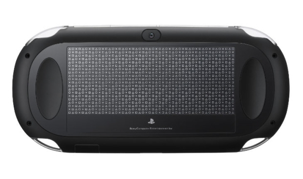 Next-Generation Portable rear touchpanel of NGP PSP2