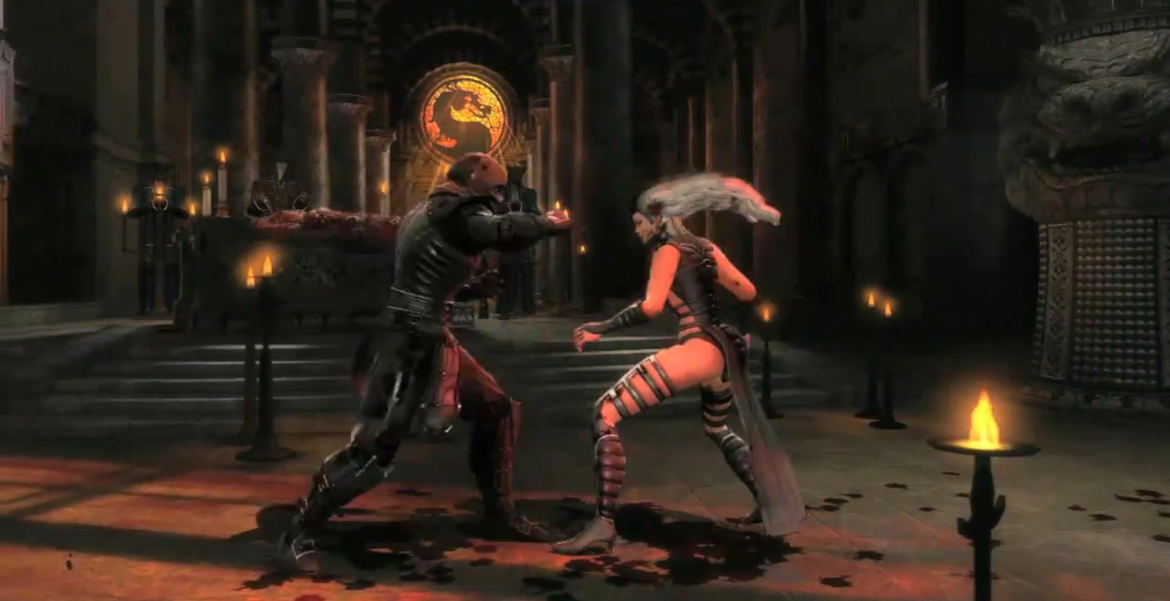 Kitana Mk2 Mortal Kombat 2011 cha...