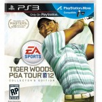 Tiger Woods PGA Tour 12: The Masters Collector's Edition box artwork (PS3)