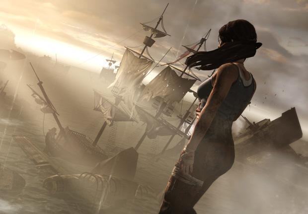 Tomb Raider 2011 wallpaper beautiful boats