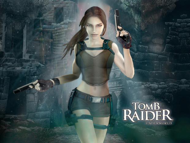 Tomb Raider Underworld Lara Croft Wallpaper Beautiful Small