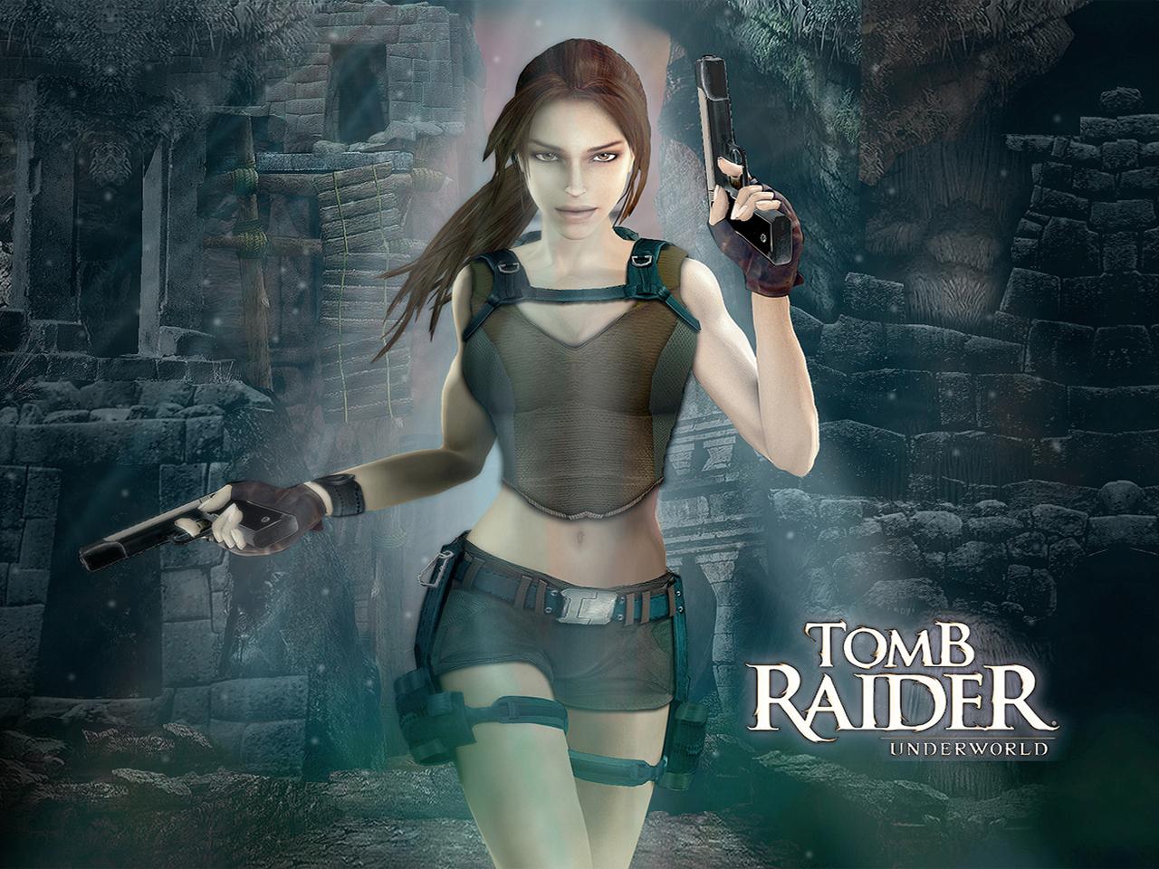 Tomb Raider Underworld Lara Croft Wallpaper Beautiful Small