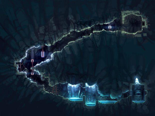 Cave Story 3D concept artwork (3DS)
