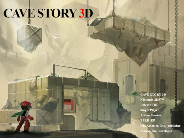 Cave Story 3D remake artwork (3DS)