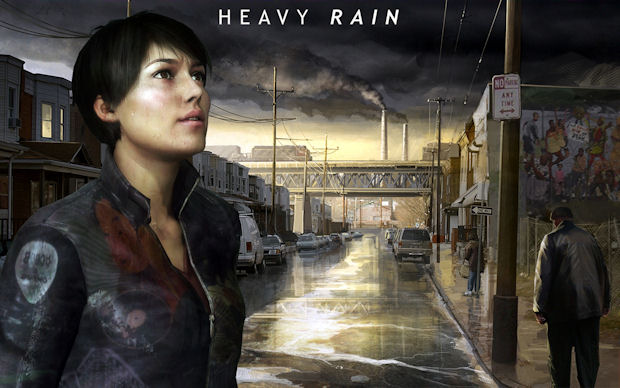 Heavy Rain filmic artwork