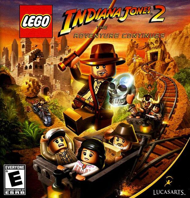 Lego Indiana Jones 2 walkthrough artwork
