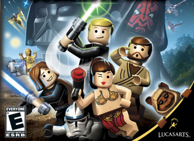 Lego Star Wars: The Complete Saga walkthrough box artwork