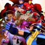 Marvel vs Capcom 3 comic wallpaper