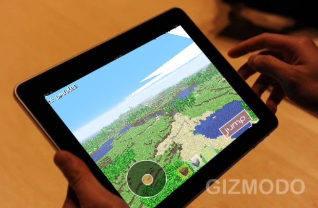 Minecraft announced for iPod Touch, iPhone, iPad (ios version)