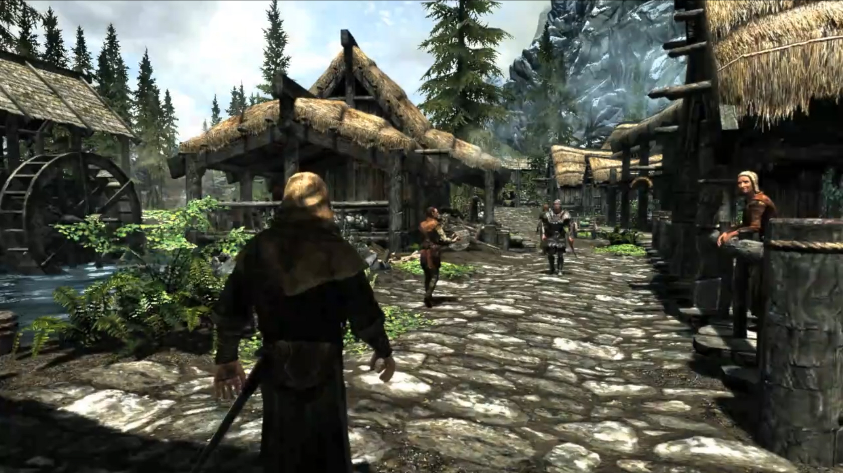Epic Skyrim Trailer Shows First Gameplay Footage
