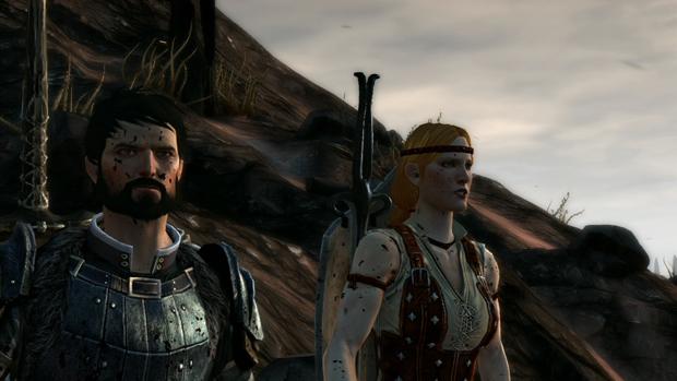 Dragon Age 2 Aveline Screenshot