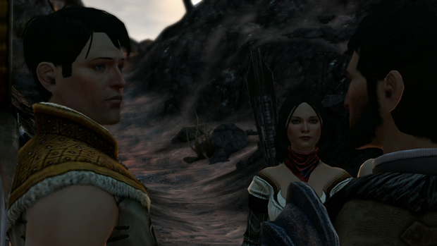 Dragon Age 2 Bethany and Carver Screenshot