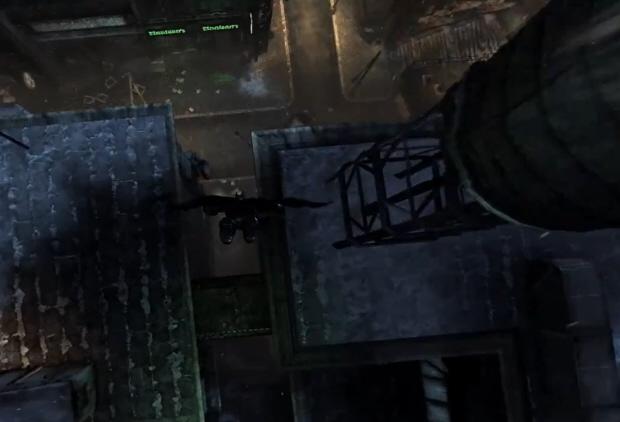 Batman: Arkham City gameplay screenshot Dive Bomb (Xbox 360, PS3, PC)