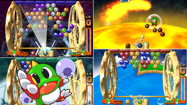 Bust-A-Move Universe fills the 3DS puzzle void on the cheap