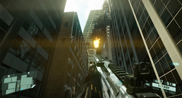 Crysis 2 screenshot. Ready to fight!
