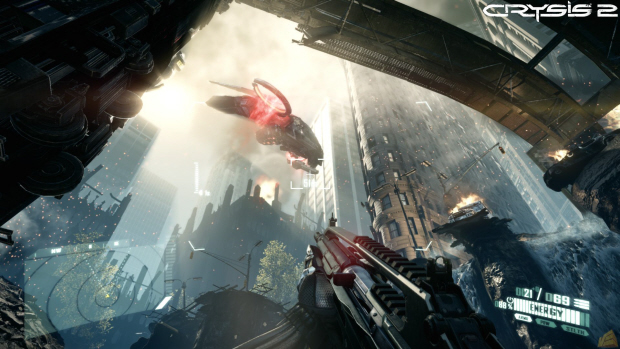 Crysis 2 features over 20 weapons