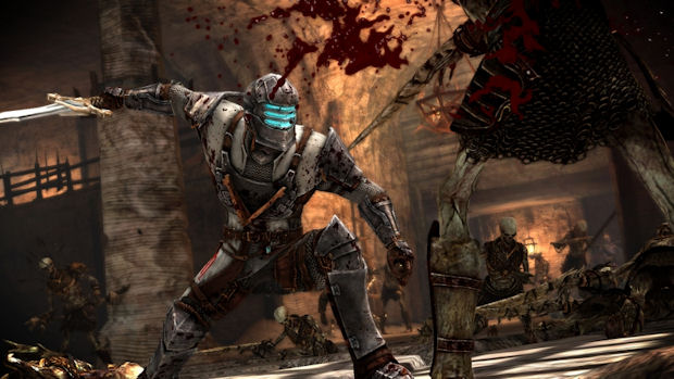 Dragon Age 2 armor screenshot of Ser Isaac's armor