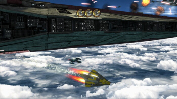 Ship Battles in Lego Star Wars 3 play an even bigger part than before