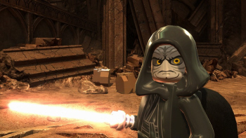 The evil Sith in Lego Star Wars 3
