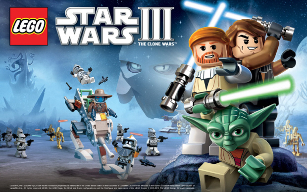 Lego Star Wars 3 walkthrough cover artwork