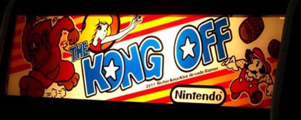 The Kong Off Donkey Kong tournament logo