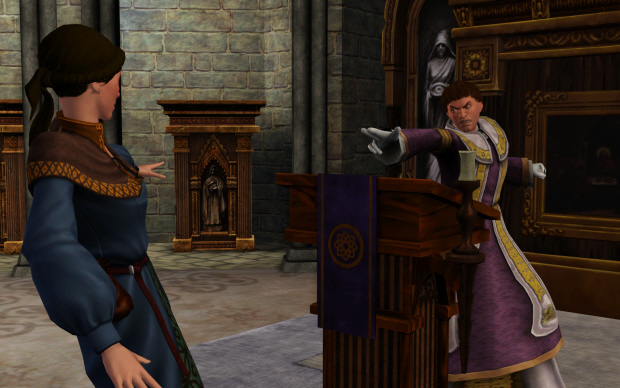 The Sims Medieval screenshot - Guilty!
