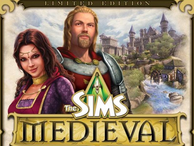 The Sims Medieval walkthrough box artwork