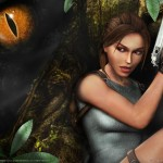 Tomb Raider Anniversary wallpaper - Dinosaur Eye