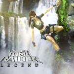 Tomb Raider Legend wallpaper - Cliff Hanging