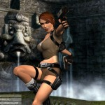 Tomb Raider Legend wallpaper - Fountain