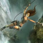 Tomb Raider Legend wallpaper - Lara and Guns