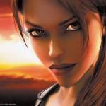 Tomb Raider Trilogy wallpaper - Face of Lara Croft