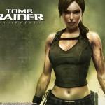 Tomb Raider Underworld wallpaper - Lara Croft covered in mud