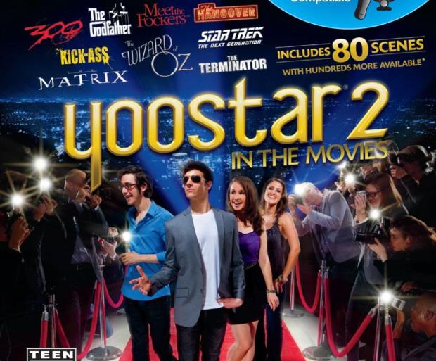 Yoostar 2: In the Movies box artwork