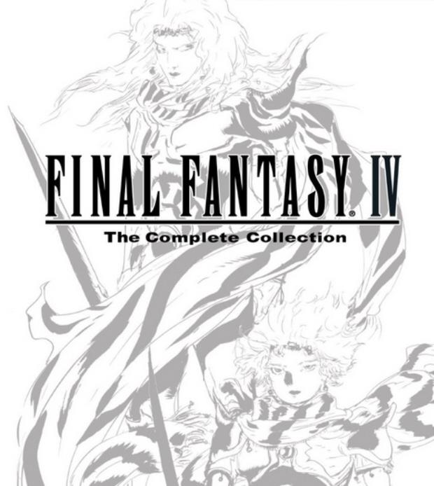 Final Fantasy IV: The complete Collection walkthrough box art (PSP)