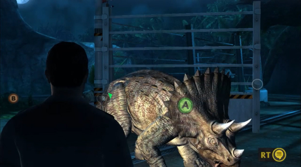 Jurassic Park: The Game gameplay screenshot on Xbox 360 (also coming to PC, Mac and possibly PS3)