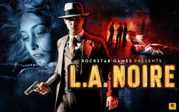 Box artwork wallpaper for LA Noire