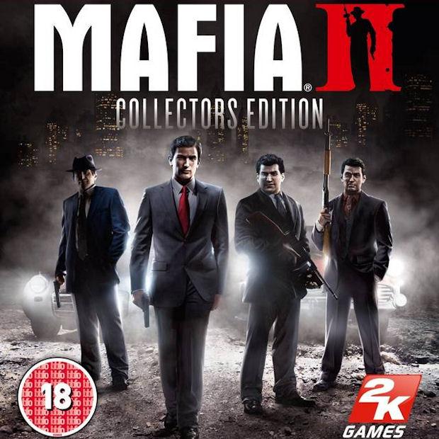 Mafia 2 box artwork