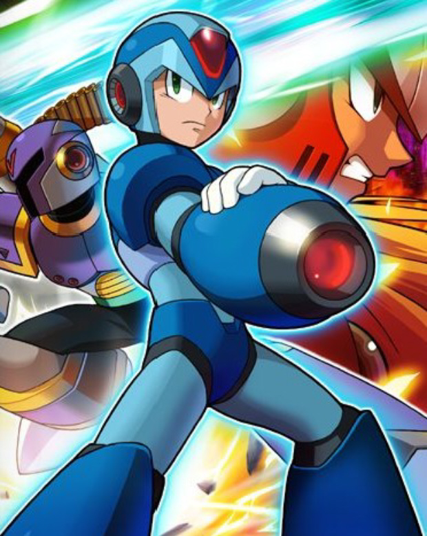 Mega Man X 1 walkthrough artwork with Zero and Vile