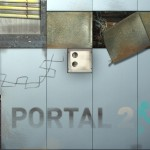 Real material looks realer with Portal 2!