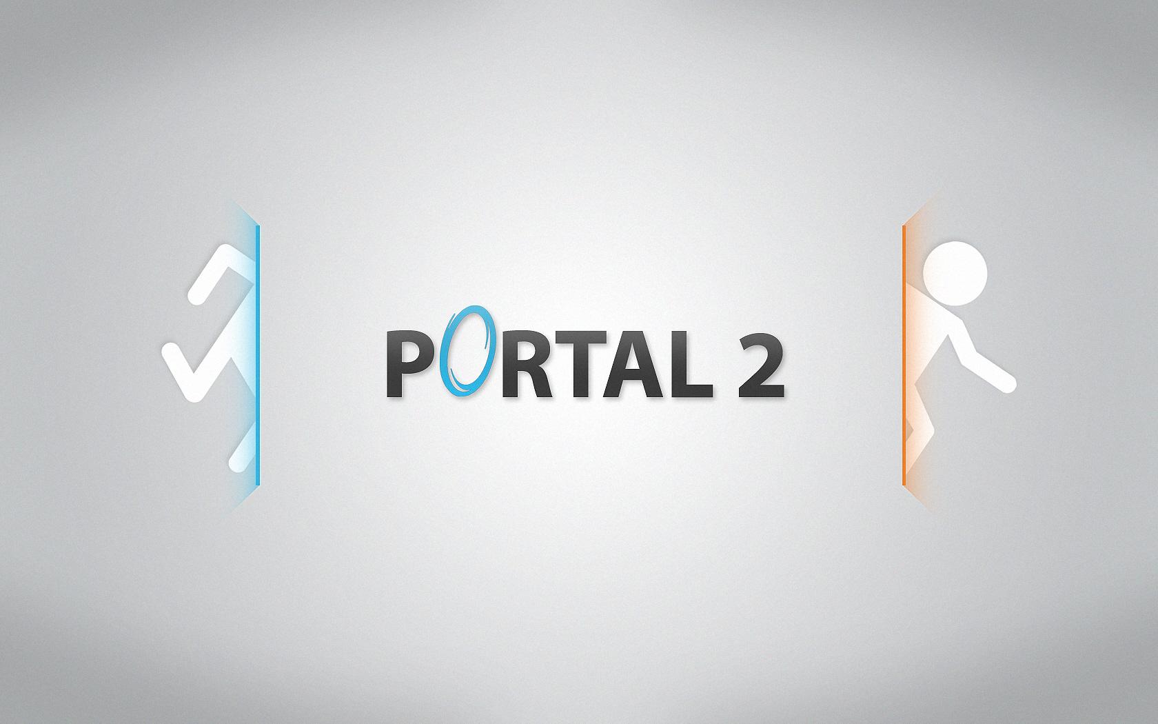Portal 2 White Logo Is Awesome