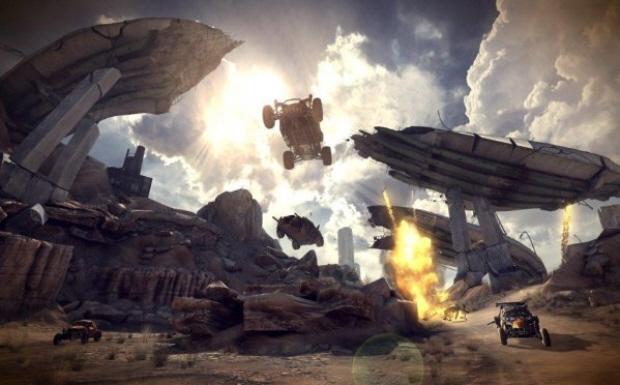 Rage buggy racing screenshot