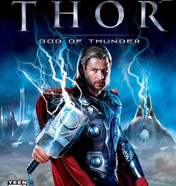 Thor: God of Thunder walkthrough box artwork