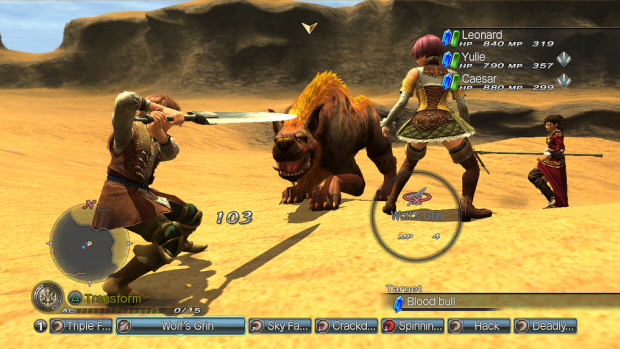 White Knight Chronicles 2 gameplay in action (PS3)