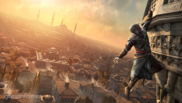 Assassin's Creed: Revelations screenshot of gameplay footage (thanks to Game Informer)