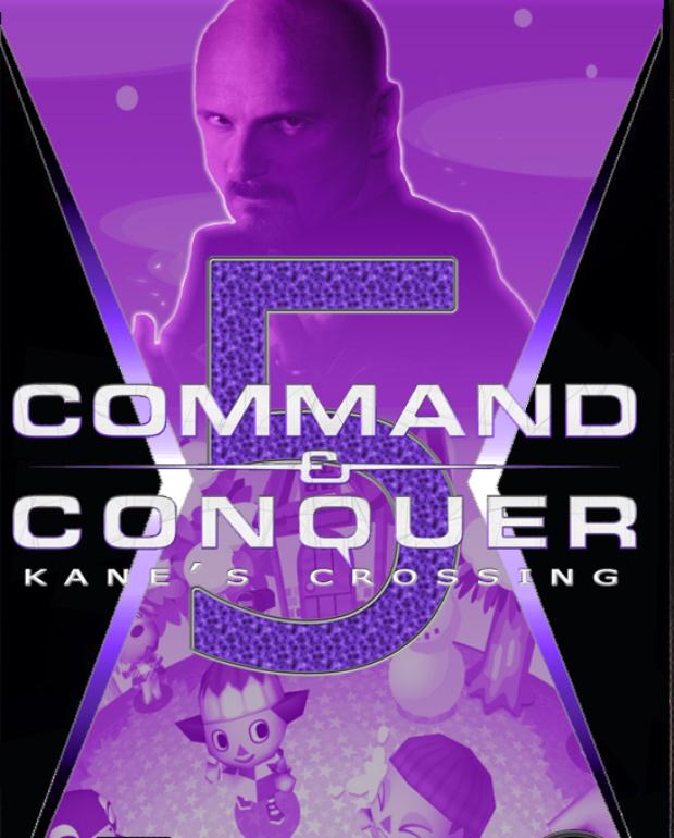 Command & Conquer 5 fake box art