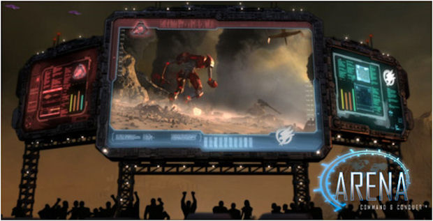 Command and Conquer Arena screenshot