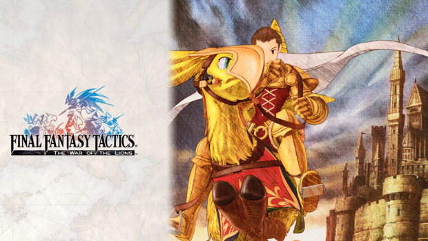 Final Fantasy Tactics: War of the Lions wallpaper, Chocobo attack!