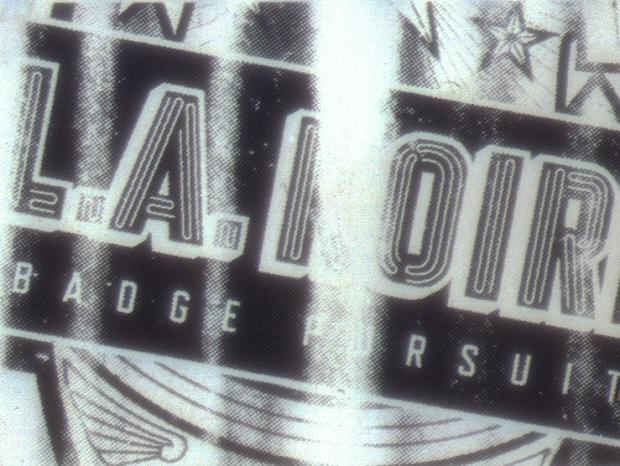 Badge Pursuit Challenge 35mm negative screenshot